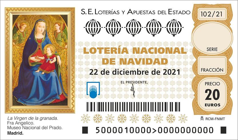 Loteria Navidad 2021