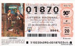 Lotería Navidad 2012