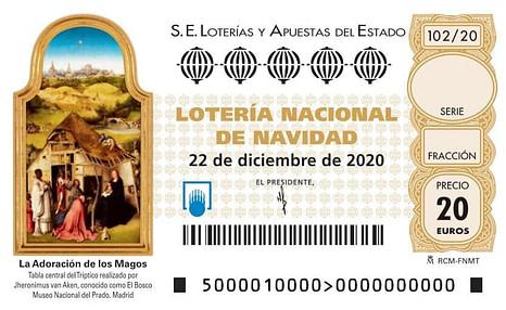 Comprar Lotería Navidad 2020