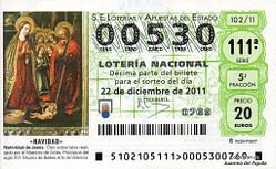 Lotería Navidad 2011