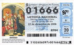 Lotería Navidad 2006